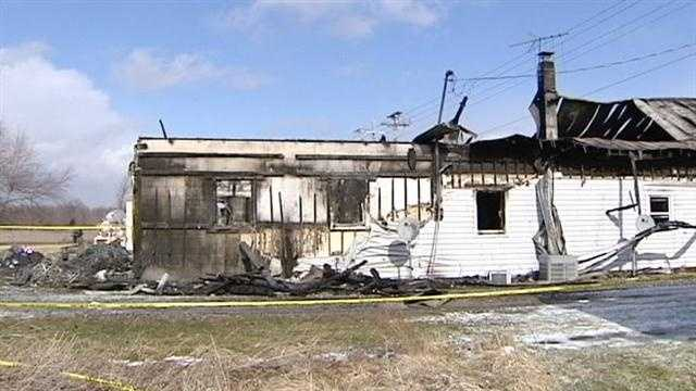 A 61-year-old woman was killed in a fire in Mount Orab early Saturday.