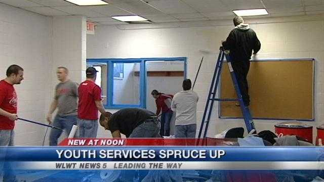 A police department's youth services unit is getting a new facility.