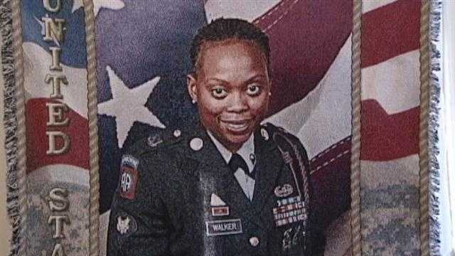 A Cincinnati family is saying goodbye to their daughter, a soldier, who was murdered.