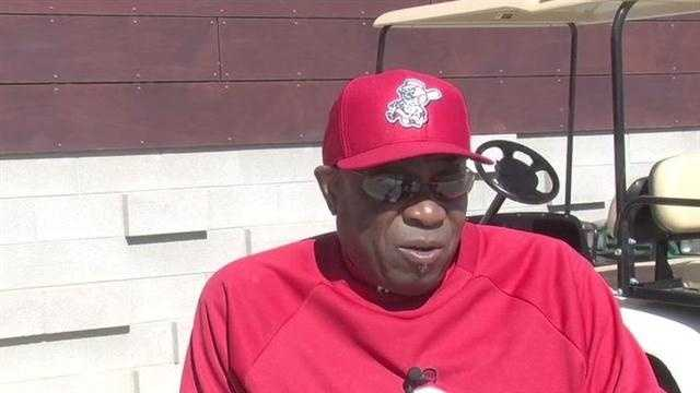 Reds Manager Dusty Baker
