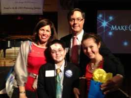 These children attended the Make-A-Wish gala and had previous wishes granted.