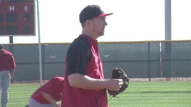 Third baseman Todd Frazier.