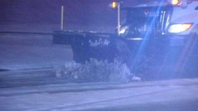 Road crews all over the tri-state said they were prepared as snow started falling.