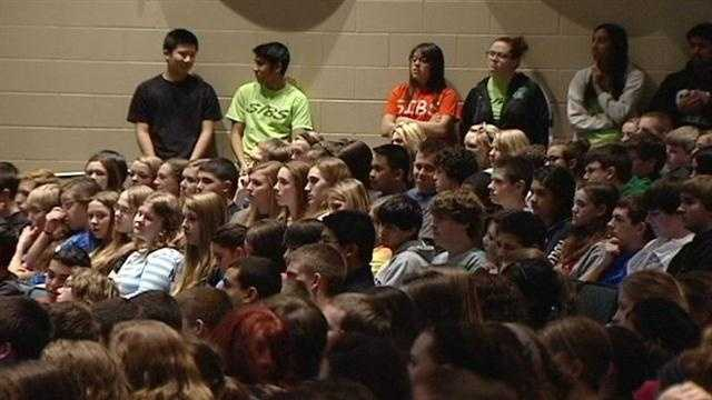 A local school district is taking part in a national kindness campaign.