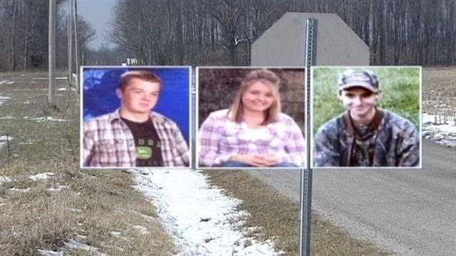 The visitations were held Monday for two of the three teens killed in a violent Ripley County car accident.