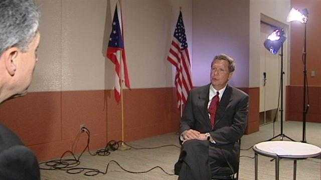 Here is the entire interview between WLWT News 5's John London and Ohio Governor John Kasich.