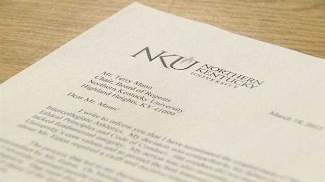 Northern Kentucky University has fired its athletic director after investigation into allegations of misconduct.