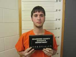 Derek Wood, facing drug charges after a Dearborn County traffic stop.