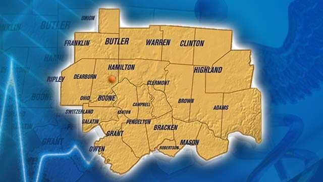Hamilton - 65th of Ohio's 88 counties.