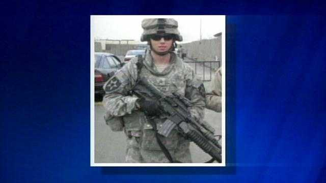 Staff Sgt. Sam Shockley, a Ross High School graduate, was critically hurt in Afghanistan.