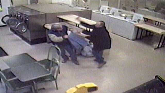 Man beat with stick at Laundromat: 'I was bleeding so bad'