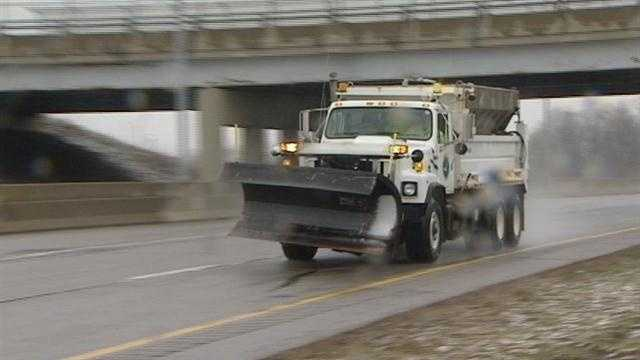 ODOT crews pretreating roads ahead of winter storm