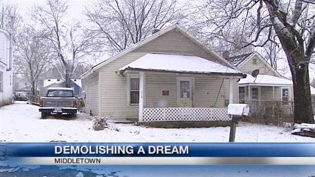 A Middletown man knew his house was run-down when he bought it, but the home might still be slated for demolition.
