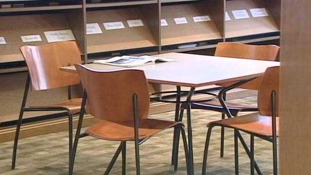 Police are investigating a string of thefts at a Hamilton library.