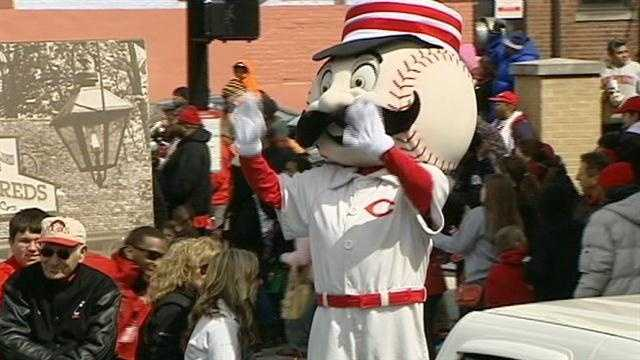 The Reds kicked off a season of high expectations with the annual Findlay Market Opening Day Parade, a Cincinnati tradition since the 1920s.
