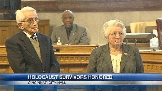 City honors local Holocaust survivors