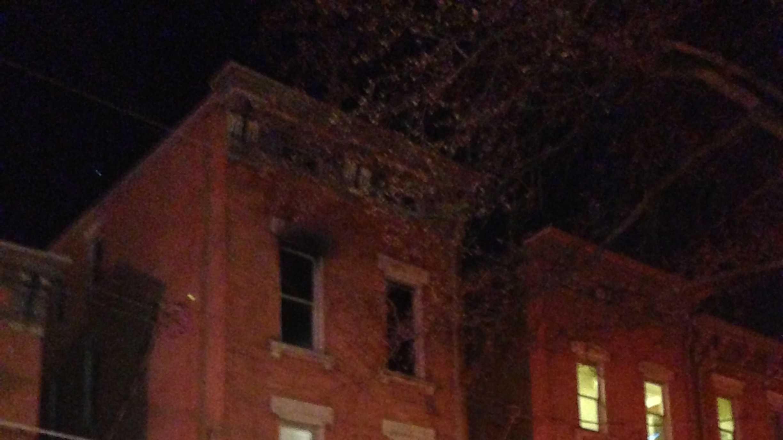 Lighter house fire