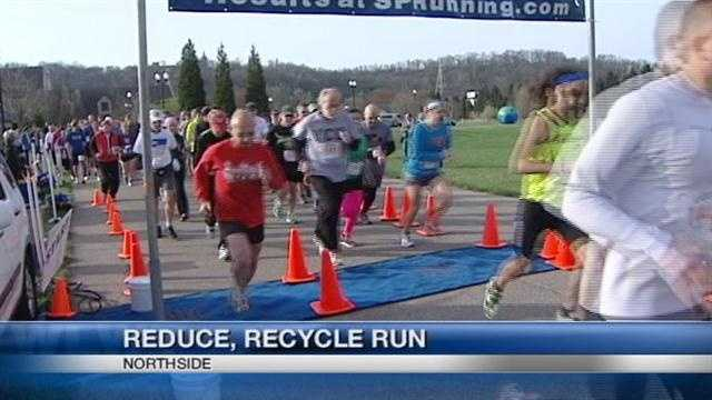 The annual Reduce, Recycle Run raises money to buy and tear down blighted properties in the Northside community.