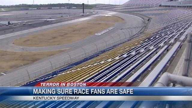 The Quaker State 400 will return to the Kentucky Speedway for the third time this summer. Because of the size of the crowd, Homeland Security will once again play a major role in safety and security operations.