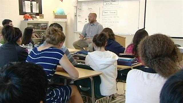 Teachers are finding ways to talk to their students about the bombings at the Boston Marathon.