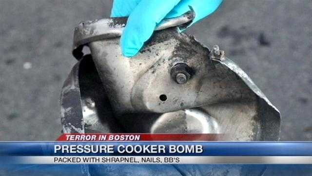 While more information is slowly being released about the bombings in Boston, local officials said they were not familiar with such explosive devices.