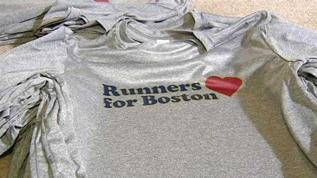 Runners prepare for Boston solidarity run