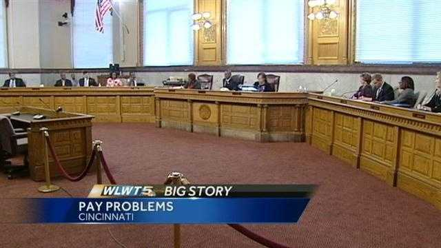 Despite impending layoffs, three Cincinnati employees got pay raises recently.