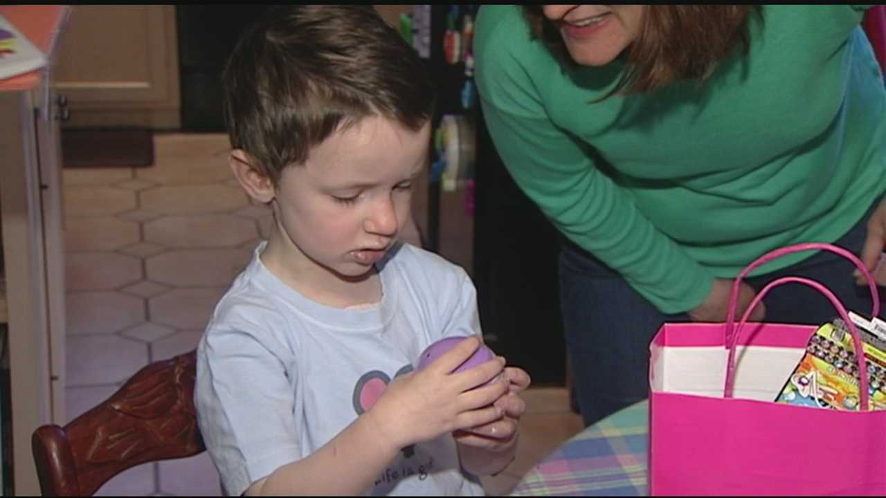 Cate Koslovsky opened presents and cakes Monday morning, celebrating her 4th birthday like any other child. But the day also served as a milestone that her parents questioned would ever happen.