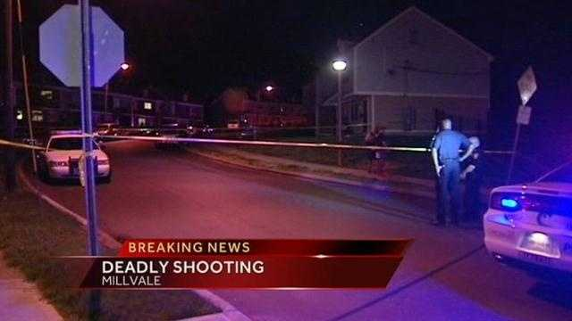 One man was shot and killed in Millvale.