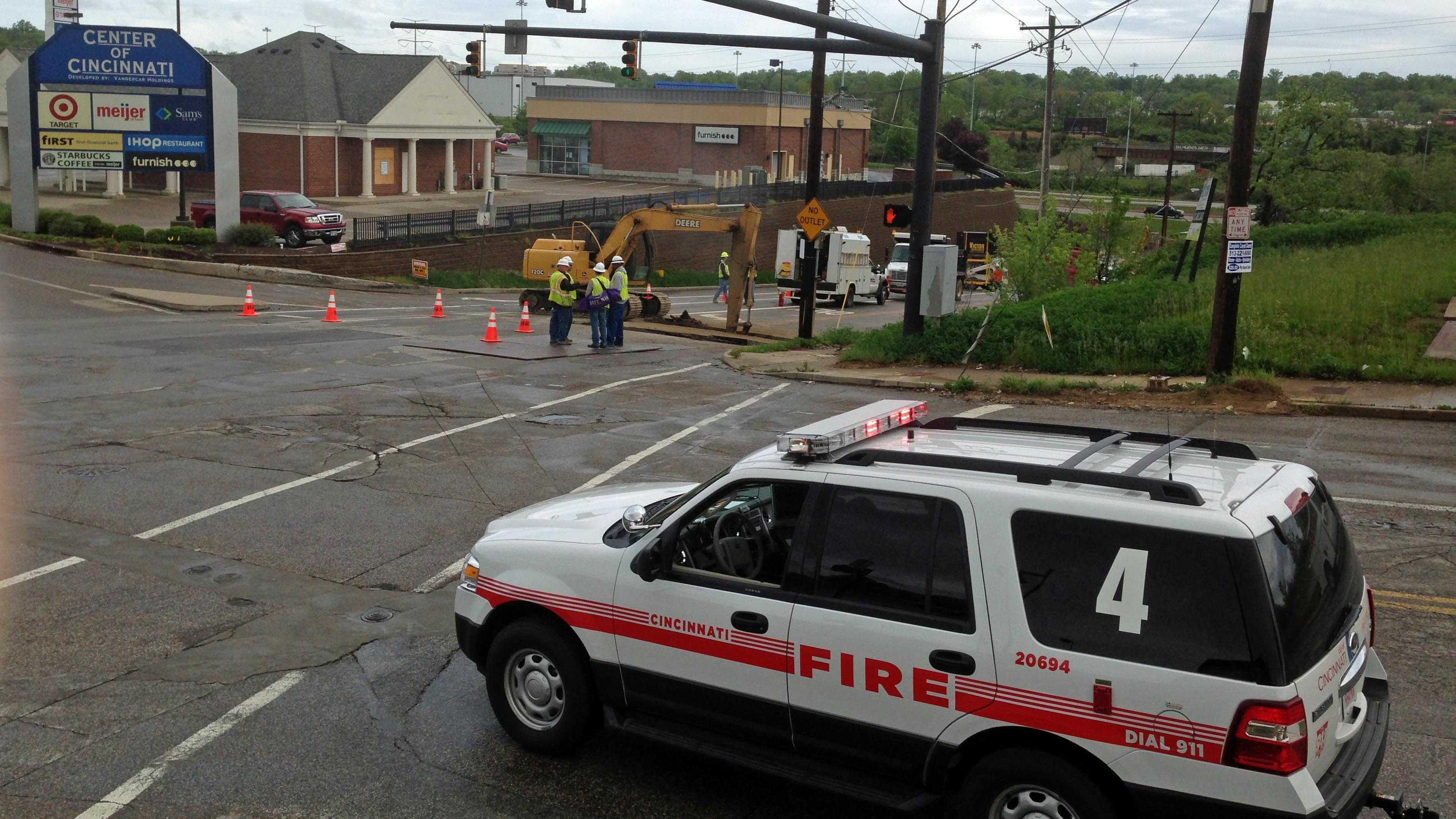 Ridge Road gas leak 050613.jpg