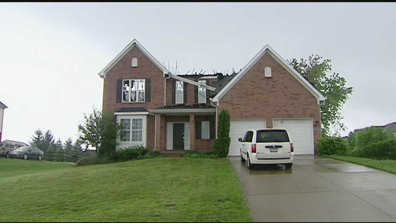 Investigators believe lightning may be to blame for a Liberty Township fire.