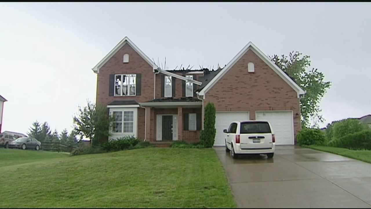 Lightning blamed for Liberty Twp. house fire