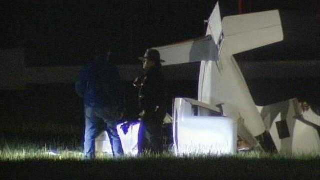 A pilot was injured after a small plane crashed in Butler County.
