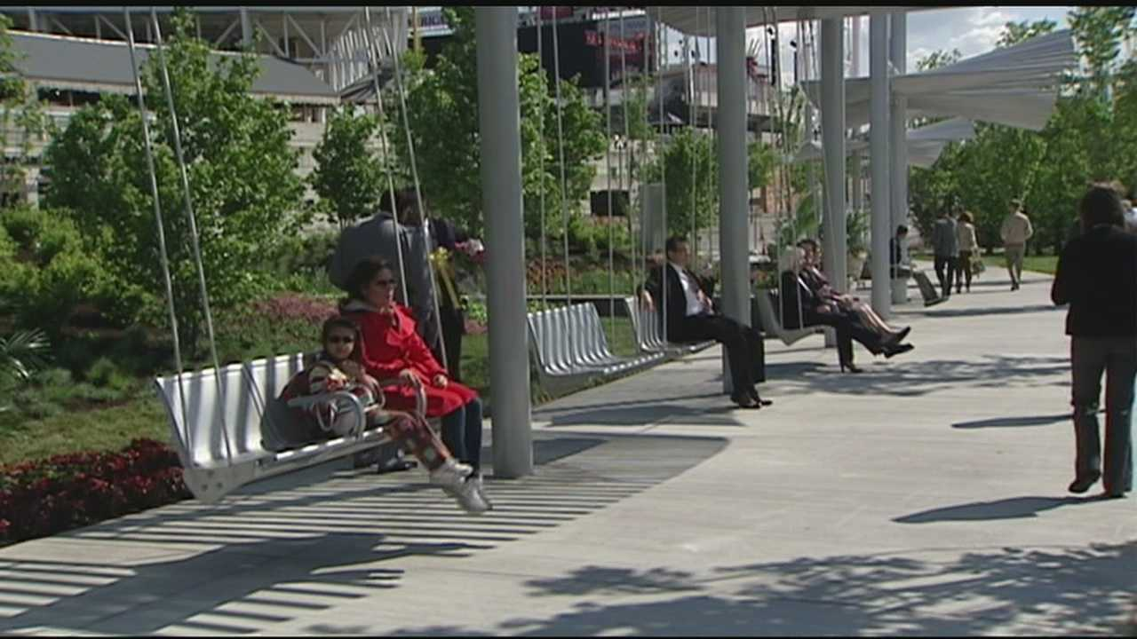 The Duke Energy Garden at Smale Riverfront Park will be dedicated on Monday.