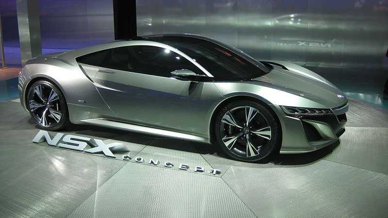 Concept car unveiled in 2012