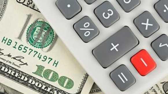 money & calculator