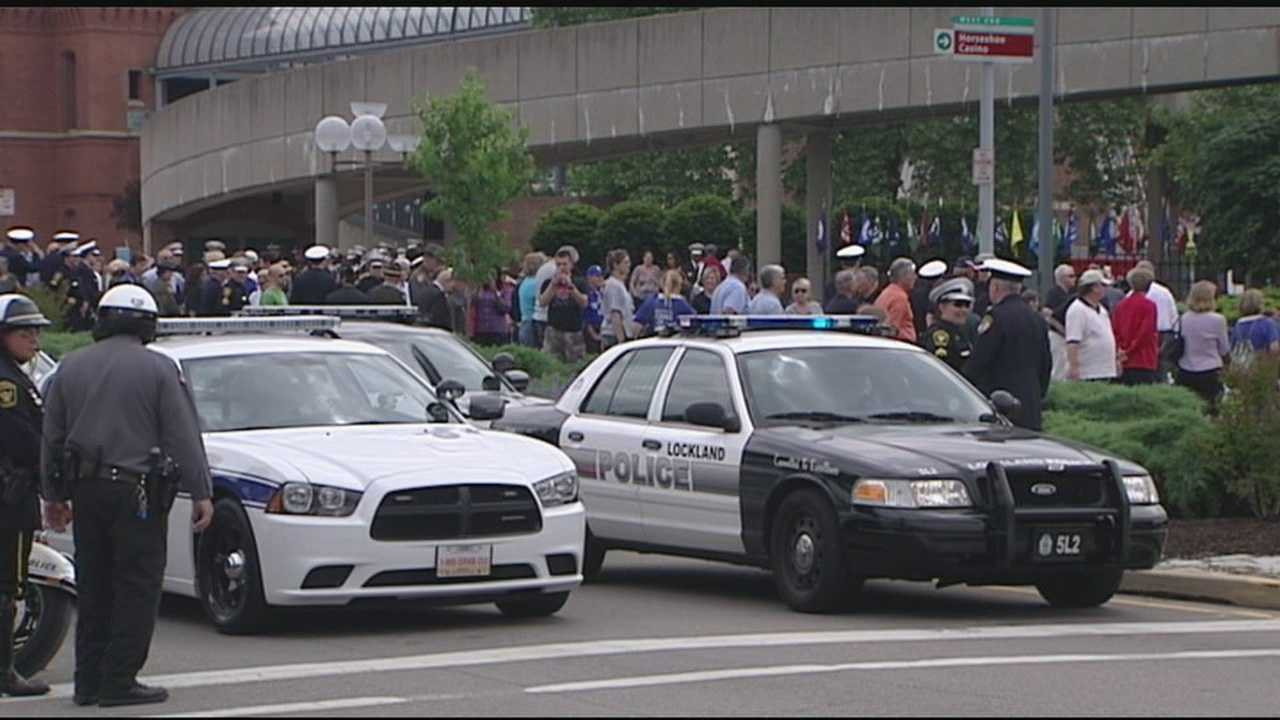 Police Memorial Week closed in Cincinnati with a special event Friday.