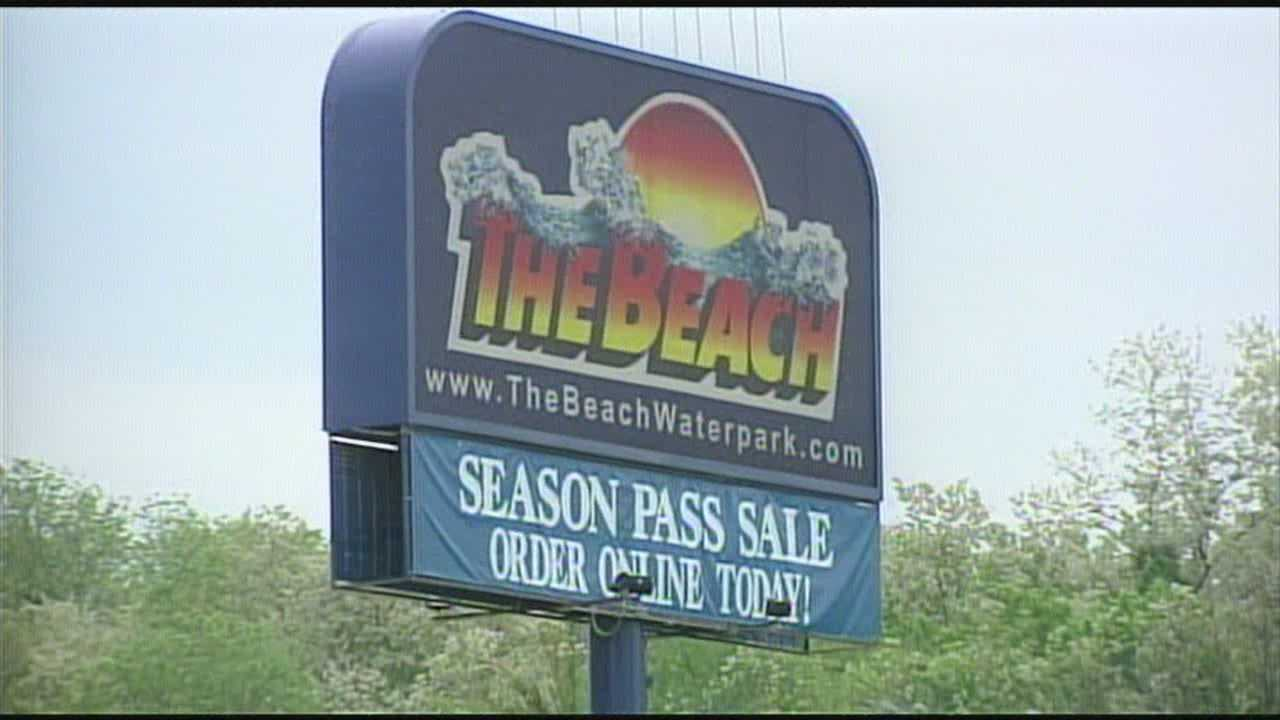 A waterpark that closed abruptly last spring is opening again this weekend.
