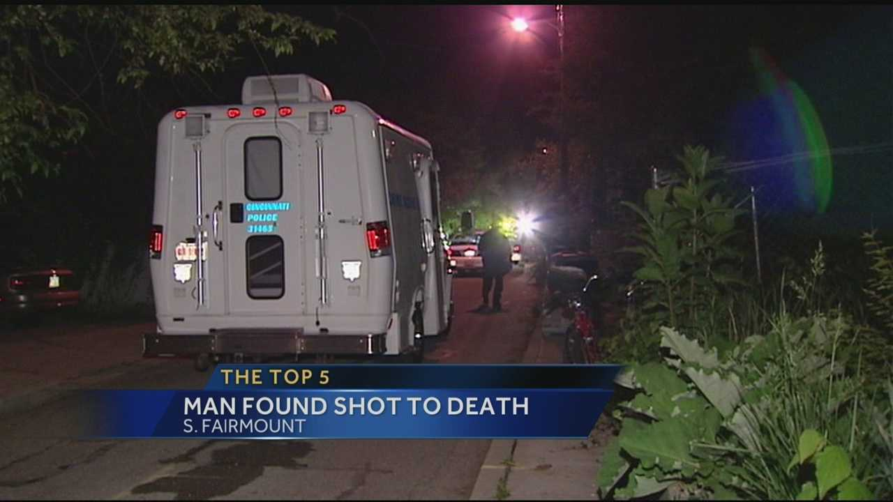 A man was shot to death overnight in a Cincinnati neighborhood.