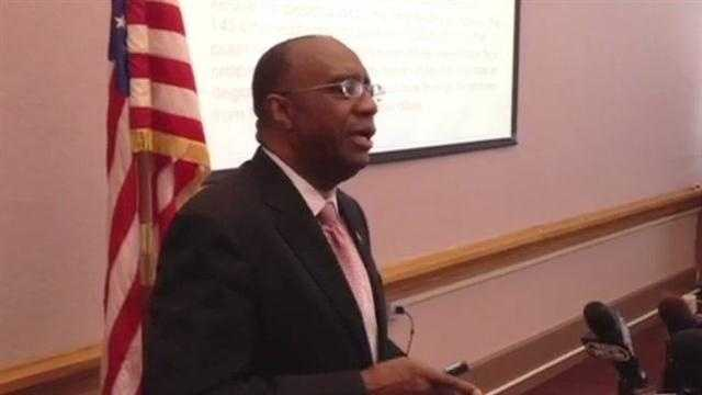 Councilman Charlie Winburn talks about his call for an audit of city credit card accounts.