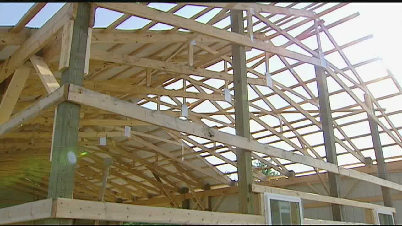 A local couple lost their home and business to a strong tornado in 2012.  They continue to rebuild everything more than a year later