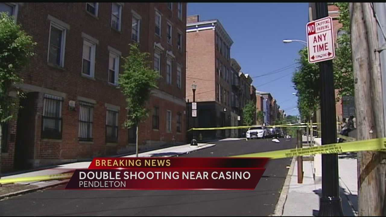Police are investigating a double shooting in Pendleton.
