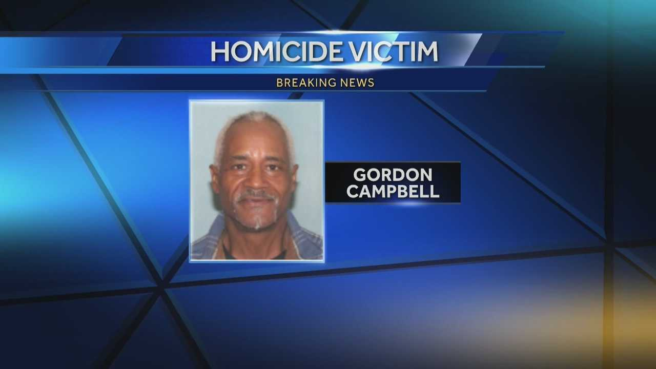 Gordon Campbell was shot to death late Monday night.