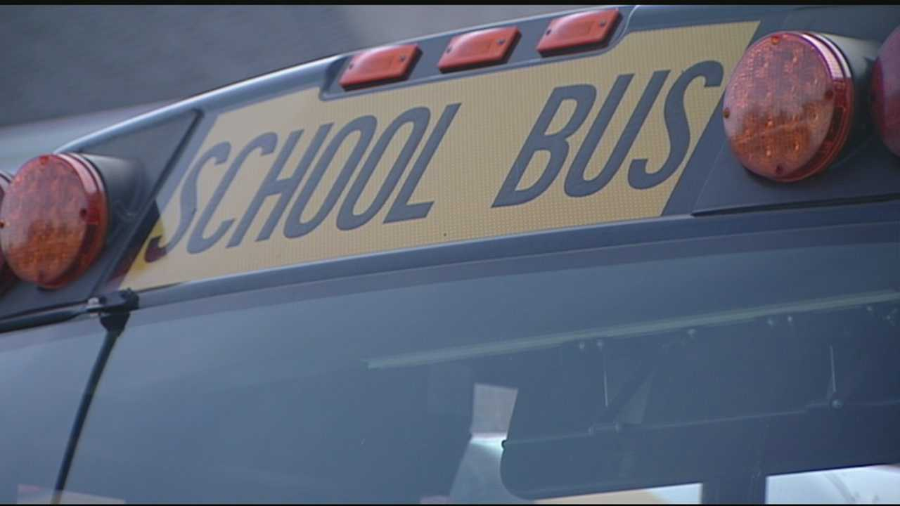 A parent says her young son was left alone on a hot school bus.