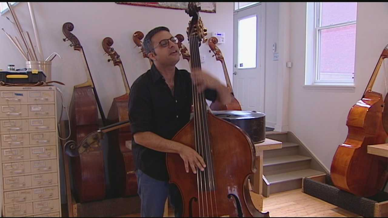 Upright bass virtuoso and composer Adam Ben Ezra could likely have an instrument made for him anywhere in the world.