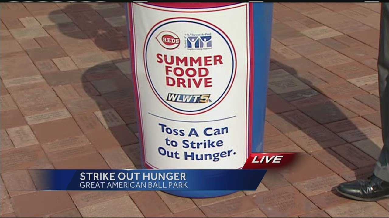 Summer is one of the slowest times of year for food donations to local charities, so this weekend is your chance to strike back with Strike Out Hunger.