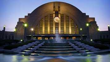 13. Learn about Cincinnati history at Union Terminal.