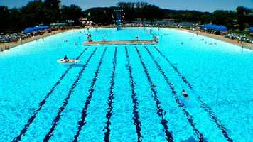 19. Take a dip in Sunlite Pool at Coney Island. It's the largest flat surface swimming pool in North America.
