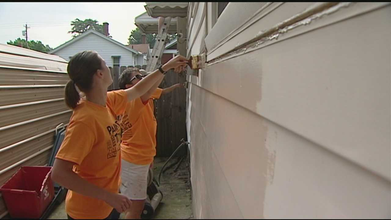 Thousands of volunteers helped make Norwood look a little better.