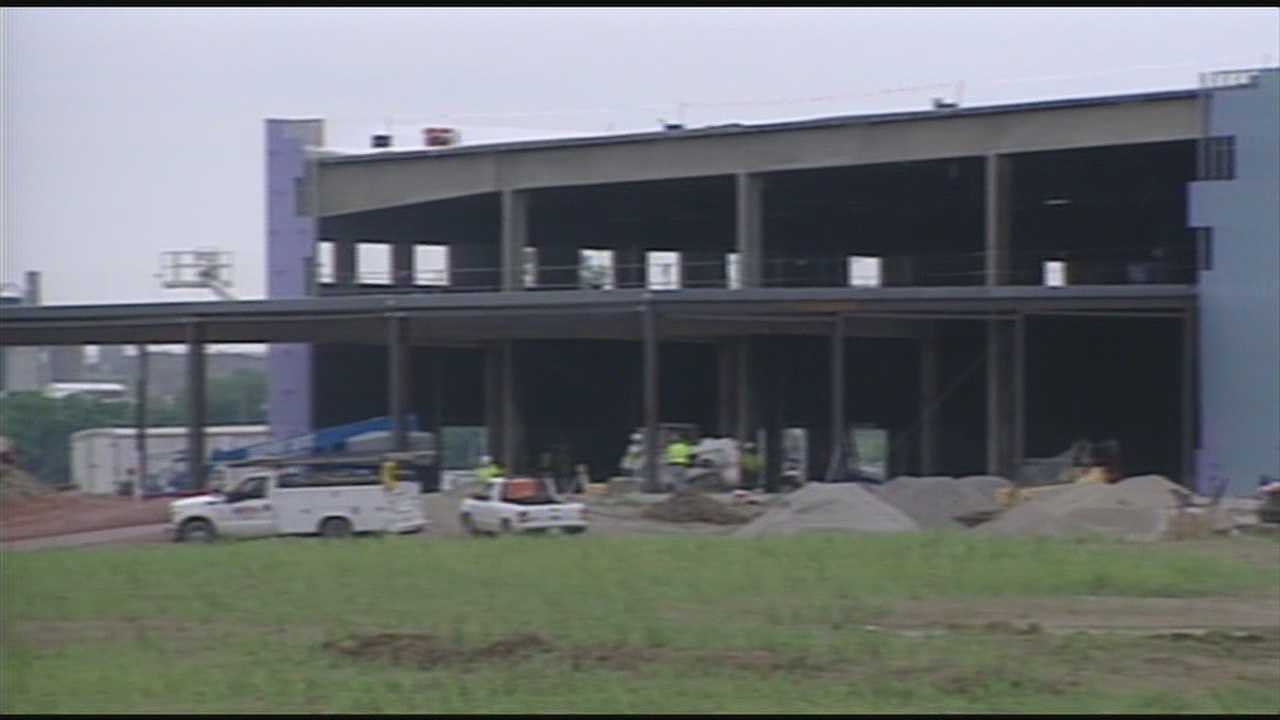 Construction is ahead of schedule at Warren County's racino, officials say.